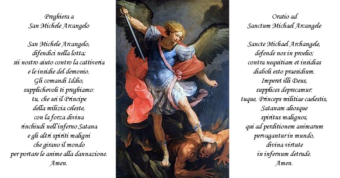 Risultati immagini per san michele arcangelo difendici nella lotta